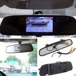 Dax 4.3 Zoll Rückspiegel Rückfahrkamera Kamera Monitor Rückfahrkamera Kamer Pour Monitor mit Auto Rückfahrkameras